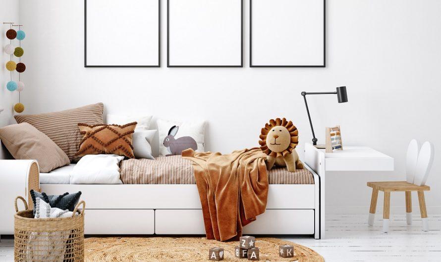 5 raisons de choisir un lit coffre pour votre enfant